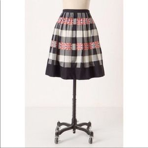 Anthropologie Floreat Do-Si-Do Skirt